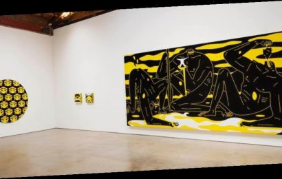 """Cleon Peterson Examines """"Hysteria"""" in New Paintings of Brutish Authoritarian Figures"""