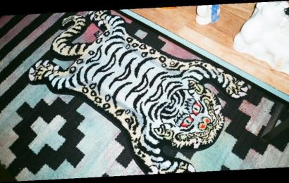 RAW EMOTIONS Delivers Cotton Candy Takes on Traditional Tibetan Tiger Rugs
