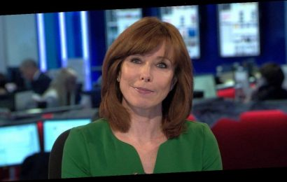 Kay Burley in quarantine after flying from South Africa amid mutant Covid strain