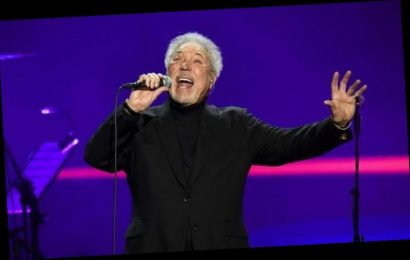 Tom Jones 'humbled and comforted' by fans streaming his music in their MILLIONS in 2020