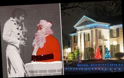 Elvis Presley's Graceland Christmas Eve all-night party: King's cousin on 'MAGICAL' times