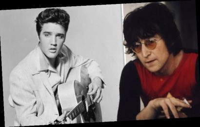 The Beatles: 'Shy' John Lennon made Elvis Presley 'uncomfortable' by staring at him