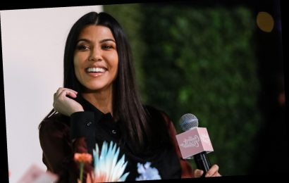 Kourtney Kardashian's favorite cozy throw blanket is 25 percent off at Nordstrom's half-yearly sale