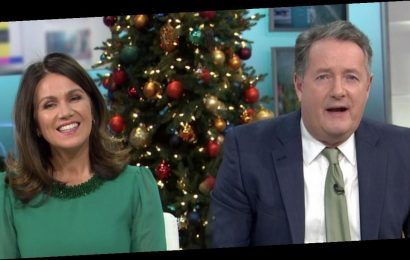 Piers Morgan brands Susanna Reid 'brilliant' and says they're 'closer than ever'