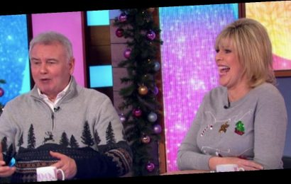 Ruth Langsford talks 'against the wall' romp with Eamonn Holmes on Loose Women