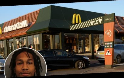 Chained Murder Suspect on the Loose After Escaping Custody at McDonald's Drive-Thru