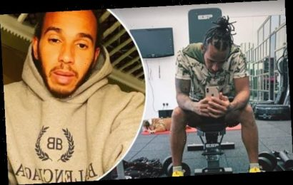 Lewis Hamilton lost almost a STONE after coronavirus battle