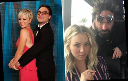 The Big Bang Theory's Johnny Galecki melts fans' hearts with touching tribute to 'fake wife' Kaley Cuoco
