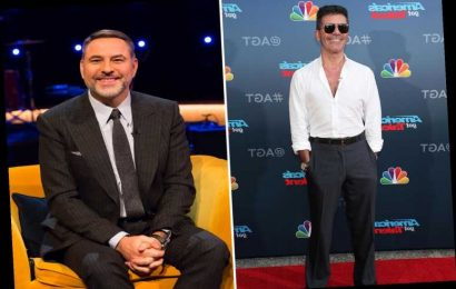 David Walliams confirms Simon Cowell will miss BGT Christmas special and says he only lost weight 'to make him look fat'