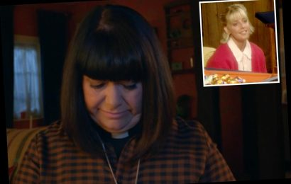 The Vicar of Dibley fans break down in tears with Dawn French as Geraldine pays tearful tribute to Alice Tinker