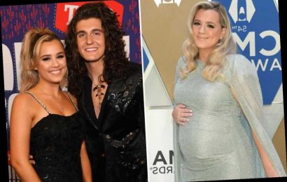 When is country singer Gabby Barrett's baby due?