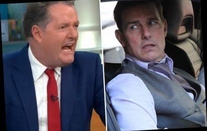 Piers Morgan mocks Tom Cruise's Covid rant as he screams at GMB crew