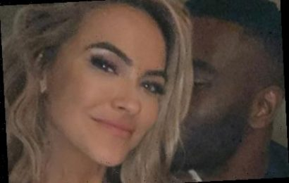 Chrishell Stause is dating DWTS pro Keo Motsepe as couple cuddle in selfies after her bitter divorce from Justin Hartley