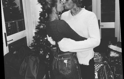 Justin Bieber Shares Cozy, Canoodling Christmas Eve Photo with Wife Hailey Baldwin