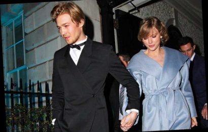 Taylor Swift 'Is Very Happy' with Boyfriend Joe Alwyn, Says Source: 'He Is Her Rock'