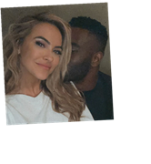Chrishell Stause and Keo Motsepe: Surprise! We're Banging!