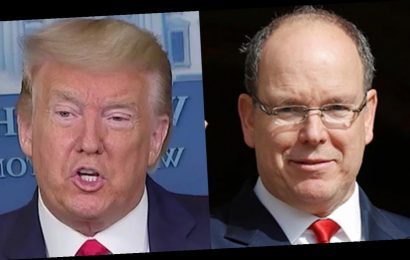 Prince Albert of Monaco says Donald Trump's damage to the climate is 'reparable'