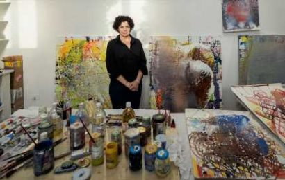 Jackie Saccoccio, Painter of Explosive Abstraction, Dies at 56