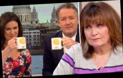 Lorraine Kelly fears 'we won't hear the end of this' as Piers Morgan tipped for new role