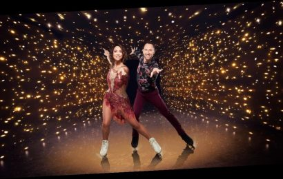 Myleene Klass defiantly says she's going to 'give everything' to Dancing On Ice after her knee injury