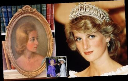 Portrait of Princess Diana's mother Frances Shand Kydd wows royal fans