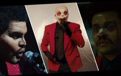 A Saga of The Weeknd's Ever-Changing Face, in Videos