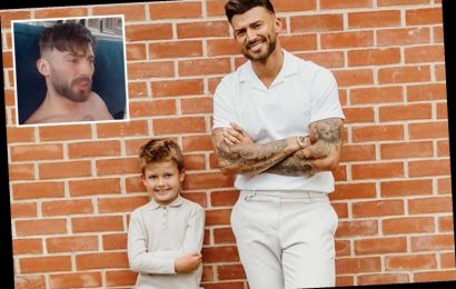 Jake Quickenden fumes 'f**k you Instagram' after pic of him in bed with girlfriend's son is deleted
