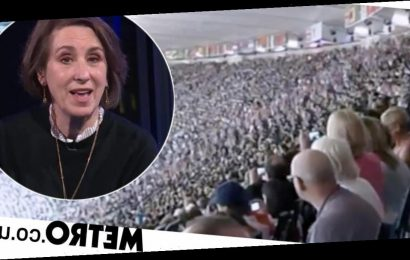 Newsnight compares tragic coronavirus death toll to Olympic Stadium