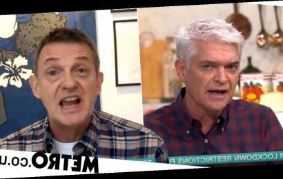 Phillip Schofield and Matthew Wright clash over Covid 'trumping' mental health