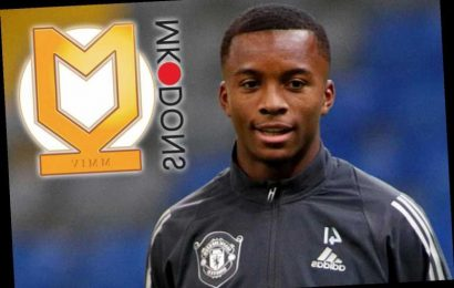 Man Utd teen star Ethan Laird joins MK Dons on loan in bid for playing time at League One club