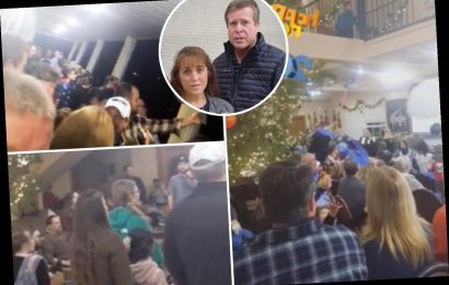 Duggar family slammed as 'irresponsible' after massive New Year's Eve party in Arkansas home with 'not a mask in sight'