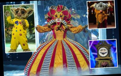 Harlequin, Viking & Bush Baby to go head to head on The Masked Singer