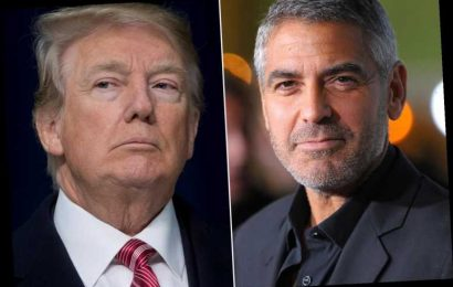 George Clooney Slams President Saying Capitol Riots Put Trump Family in 'Dustbin of History'