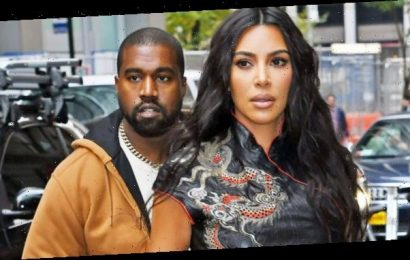 Kim Kardashian & Kanye West 'Communicating Little' As They Continue To Live 'Separate Lives'