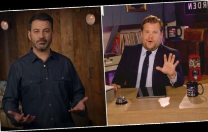 'The Late Late Show' & 'Jimmy Kimmel Live' Return To Remote Filming Due To Covid-19 Surge