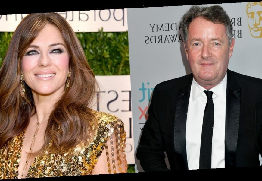 Piers Morgan apologizes to Elizabeth Hurley for calling her 'thirsty and creepy' over viral topless photo