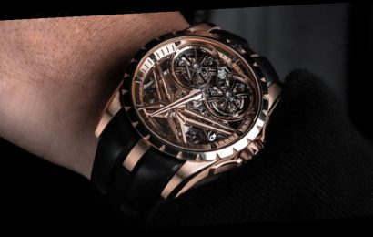 Roger Dubuis Graces Its Excalibur With a Double Flying Tourbillon