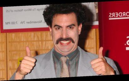 Sacha Baron Cohen Reflects on Retiring Borat