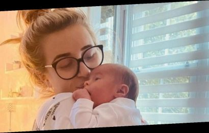 Dani Dyer shares adorable close-up snap of baby son after breastfeeding worries