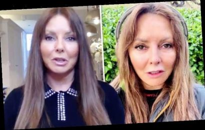 Carol Vorderman sparks concern as she loses voice amid Masked Singer rumours: 'Is sheOK?'