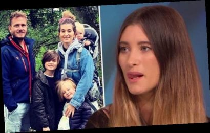 Charley Webb addresses rows with husband in lockdown as she admits 'we're not romantic'