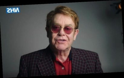 Elton John and Sir Michael Caine join NHS to promote COVID-19 vaccine