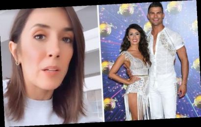 Janette Manrara opens up on week of 'mixed emotions' as she teases 'exciting anoucement'