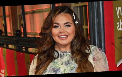 Scarlett Moffatt shows off before and after smile transformation after having gap in teeth fixed