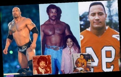 How Dwayne Johnson overcame tough upbringing to become Hollywood star