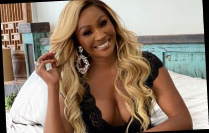 RHOA star Cynthia Bailey looks ageless as she poses in black lingerie for her 54th birthday