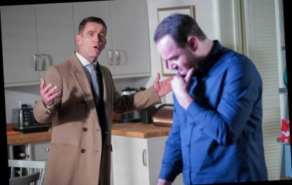 EastEnders spoilers: Mick Carter furiously punches Max Branning as he tries to get Linda back