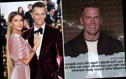 Super Bowl 2021 Tom Brady jokes about his sex life with Gisele Bundchen after being trolled by rival fan