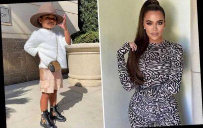 Khloe Kardashian slammed for 'spoiling' daughter True, 2, as tot shows off $900 Fendi boots & $1,570 Louis Vuitton purse