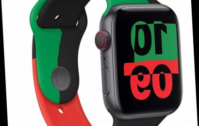 Calling All Apple Watch Owners: The Limited-Edition Black Unity Sport Band Is Here